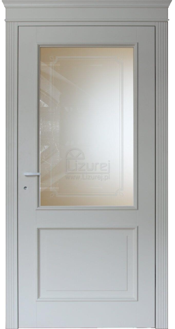 Białe drzwi wewnętrzne LW 260