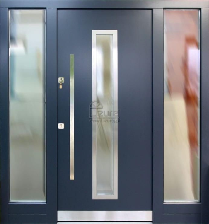Drzwi zewnętrzne z dostawkami LZ503