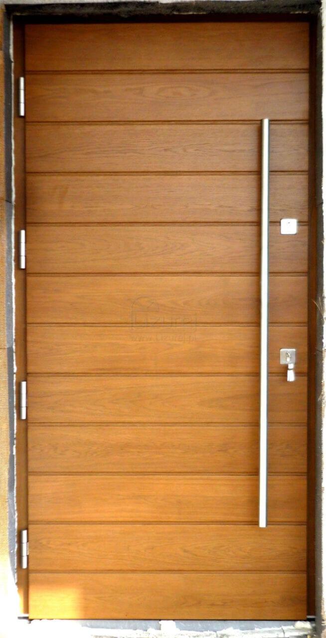 Drzwi zewnętrzne nowoczesne LZ466