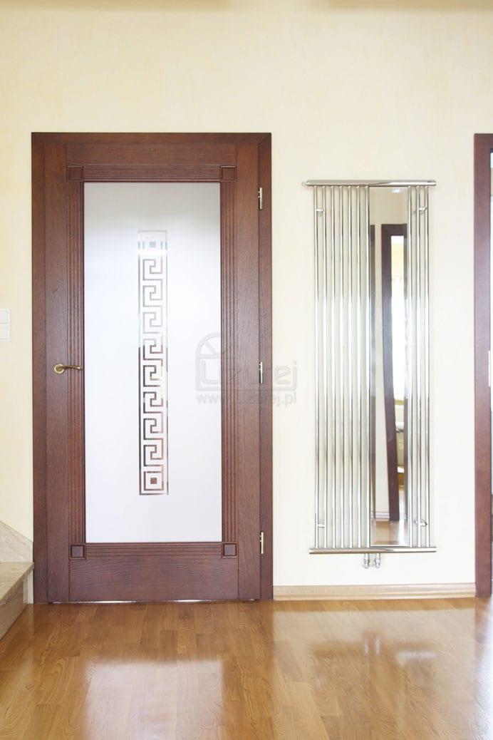 Drzwi wewnętrzne drewniane nowoczesne LW 490