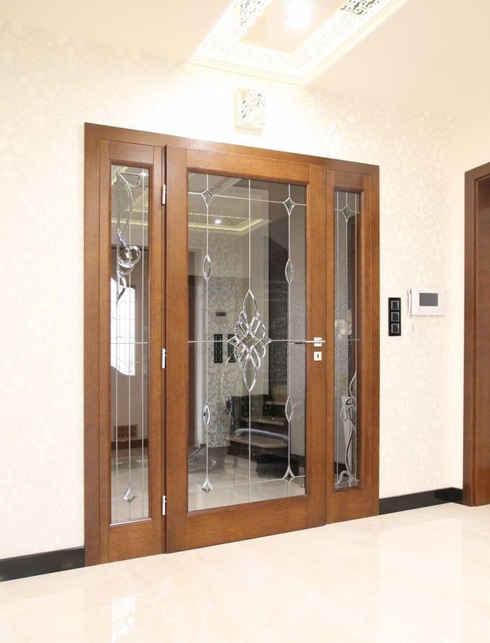 Drzwi wewnętrzne eleganckie stylowe Ekskluziw  lw 465