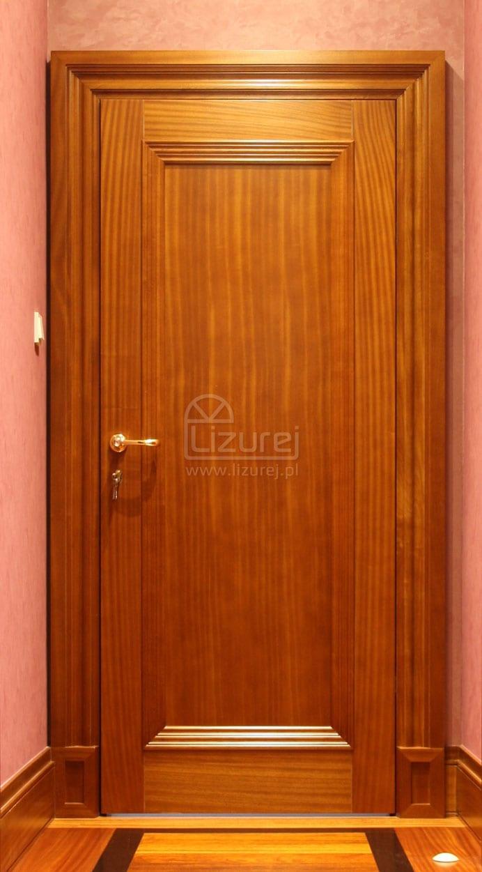 Drzwi wewnętrzne drewniane egzotyk LW226