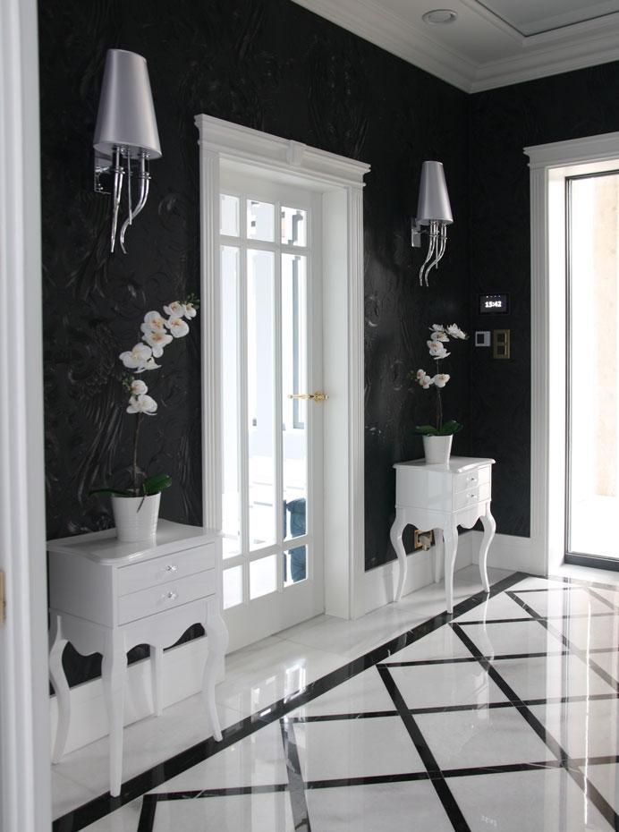 Drzwi wewnętrzne drewniane kryształ białe LW528