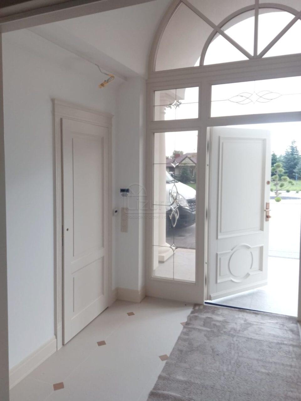 Drzwi Drewniane Wiatrolap Willa Parkowa LW536