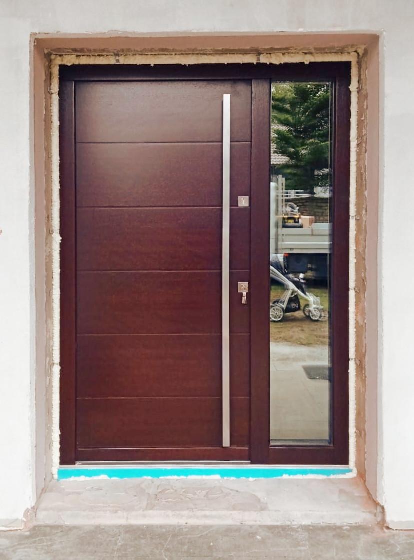 Drzwi Wejściowe Zewnętrzne Nowoczesne 1 Lz625