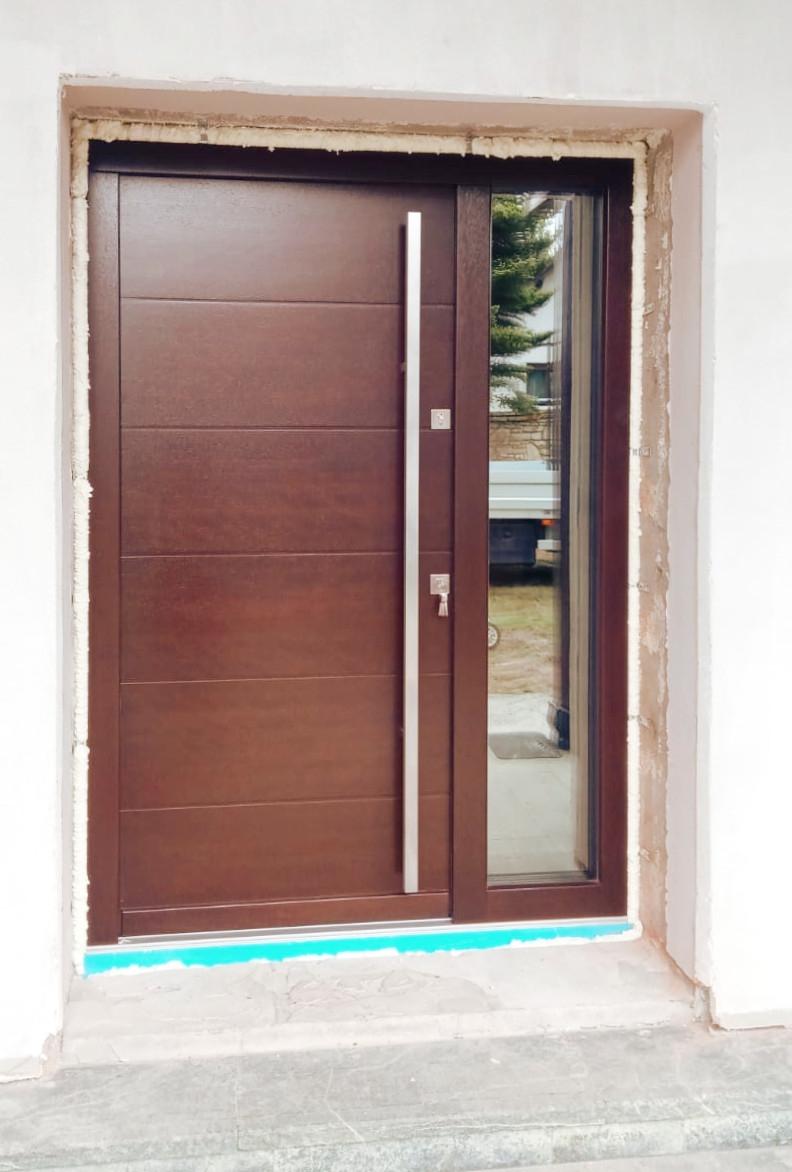 Drzwi Wejściowe Zewnętrzne Nowoczesne Lz625