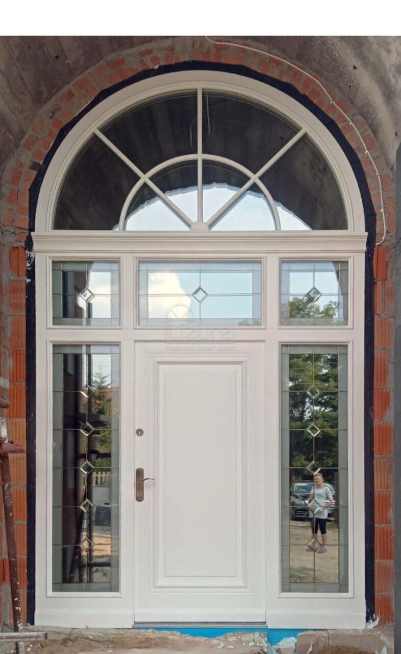 Drzwi Zewnętrzne Drewnaine Parkowa LZ624