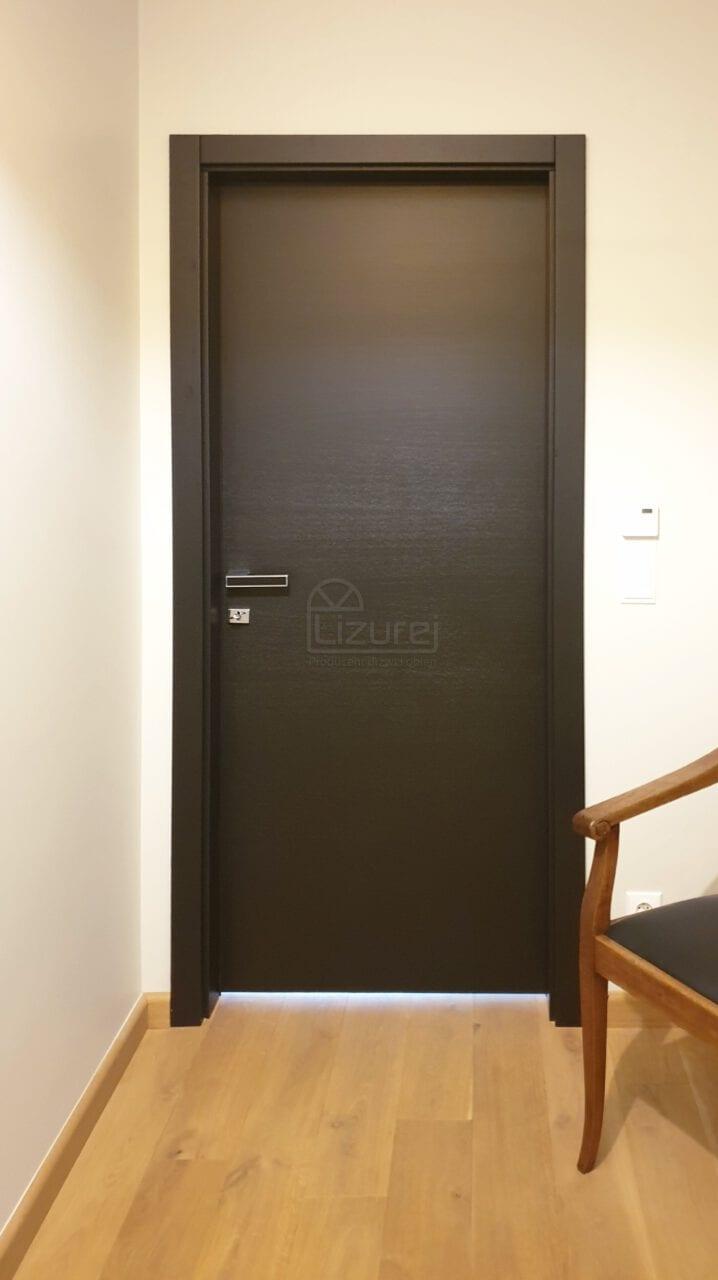 Drzwi Wewnetrzne Drewniane Producent Czarne LW540