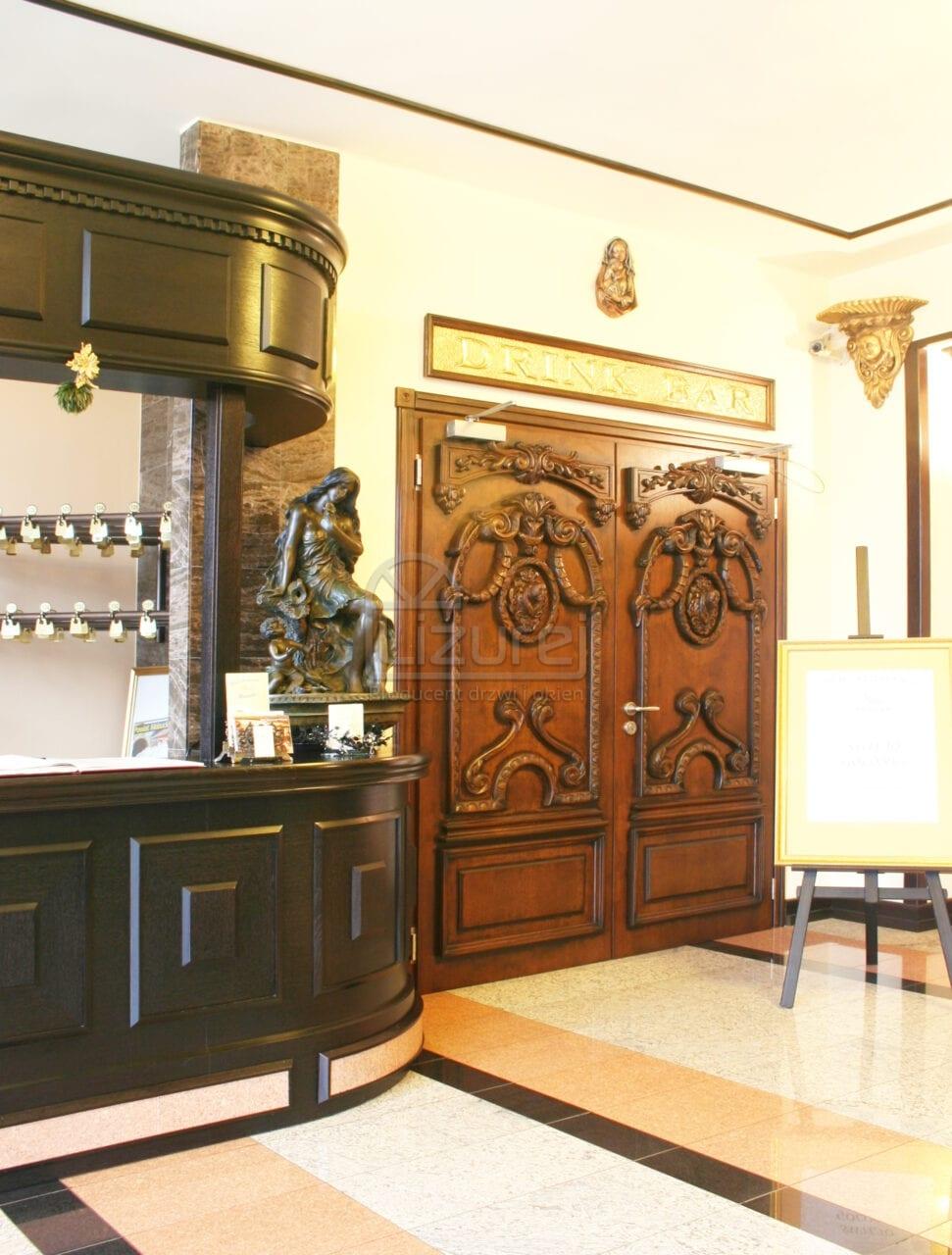 Producent Drzwi Drewnianych Na Wymiar Lizurej Galeria Wewnętrzne 19