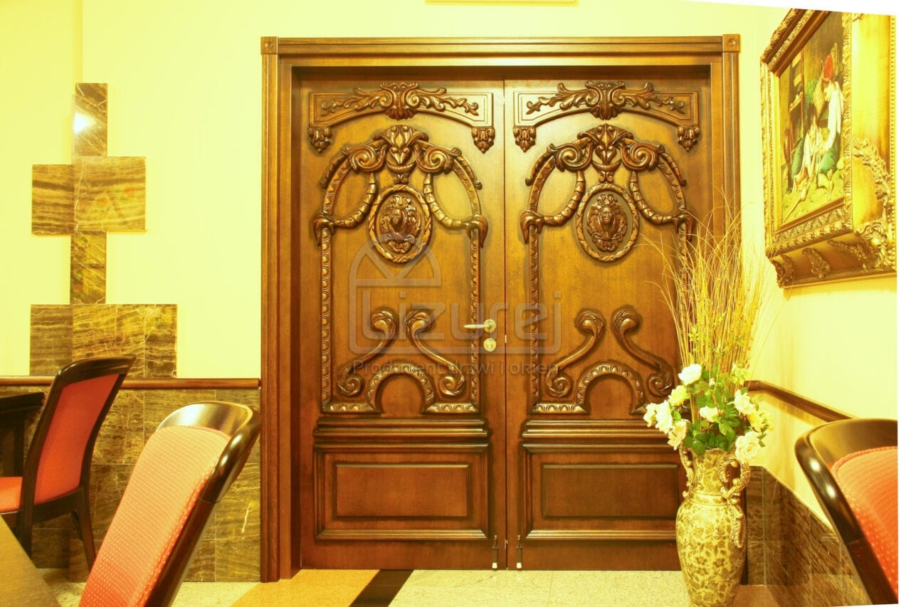 Producent Drzwi Drewnianych Na Wymiar Lizurej Galeria Wewnętrzne 20