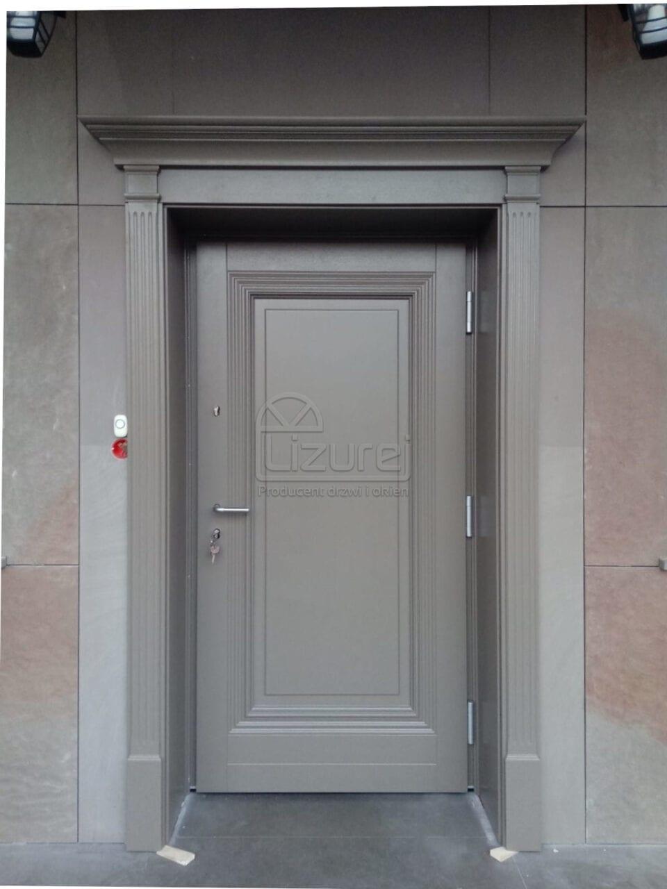 Producent Drzwi Drewnianych Na Wymiar Lizurej Galeria Zewnętrzne 11