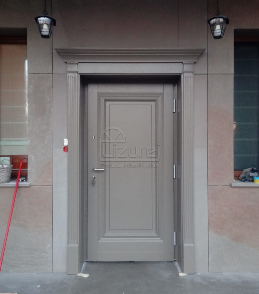 Producent Drzwi Drewnianych Na Wymiar Lizurej Galeria Zewnętrzne 13